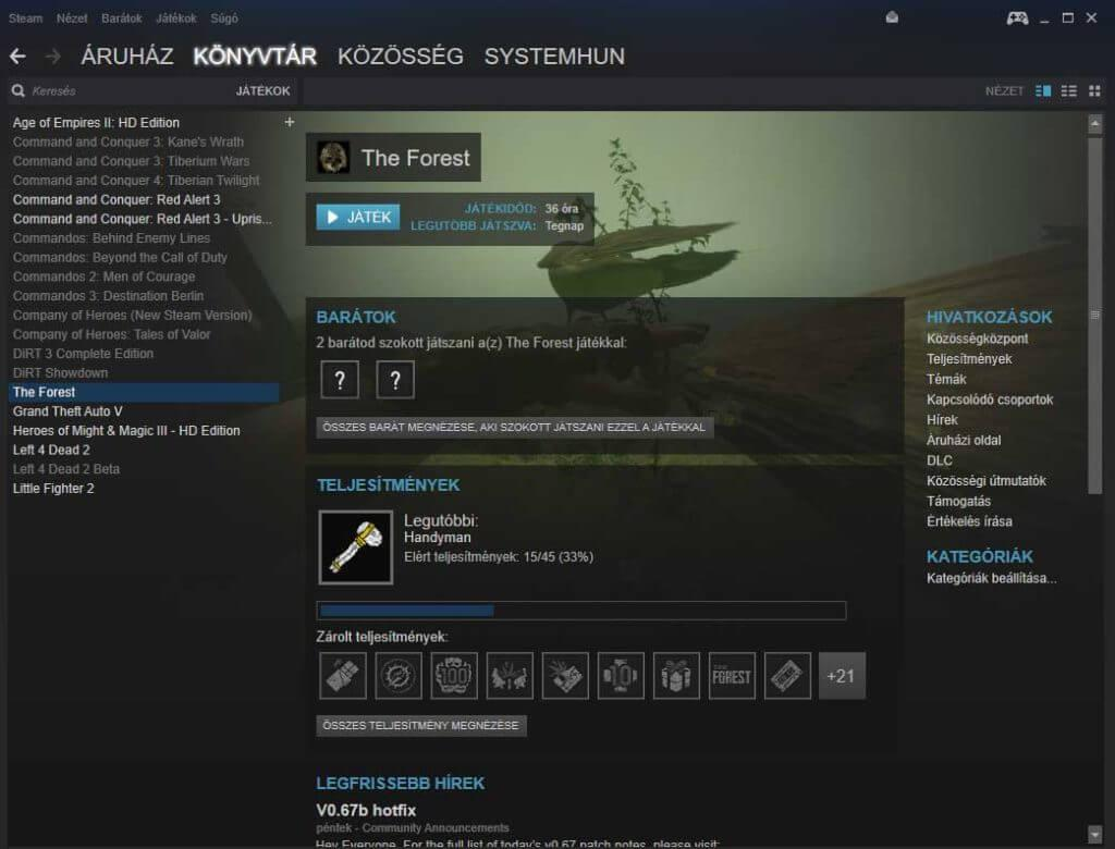 Forest-steam-install-play