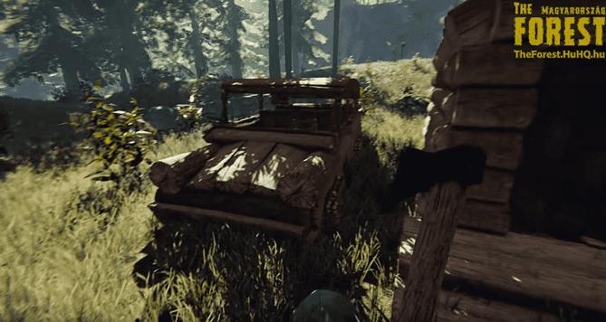 Trabant theforest